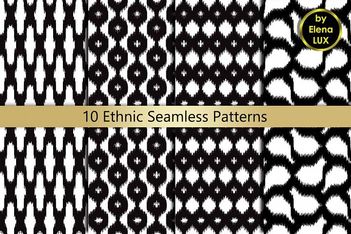 Ethnic Seamless Set