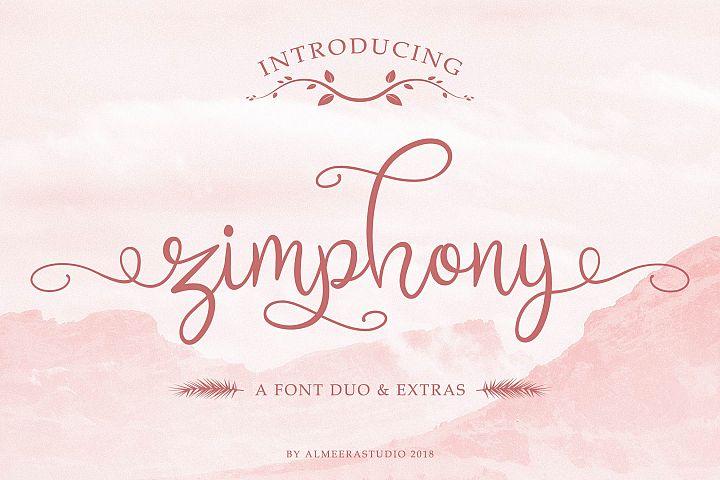 Zimphony Font Duo