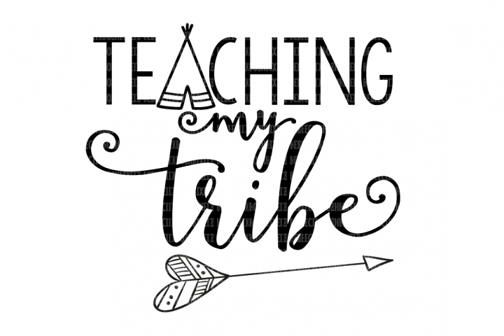 Teaching My Tribe School SVG example 4