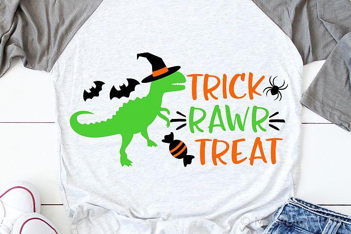 Boy Halloween Svg, Halloween Svg, T-Rex Svg, Dinosaur Svg