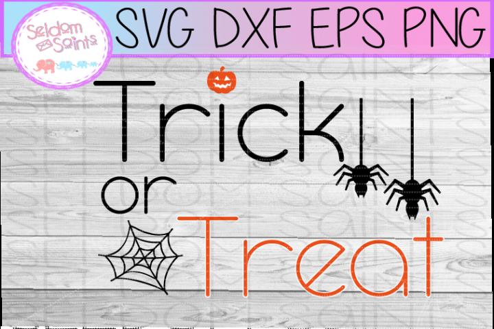 Trick or Treat SVG PNG DXF EPS Cricut Cut File