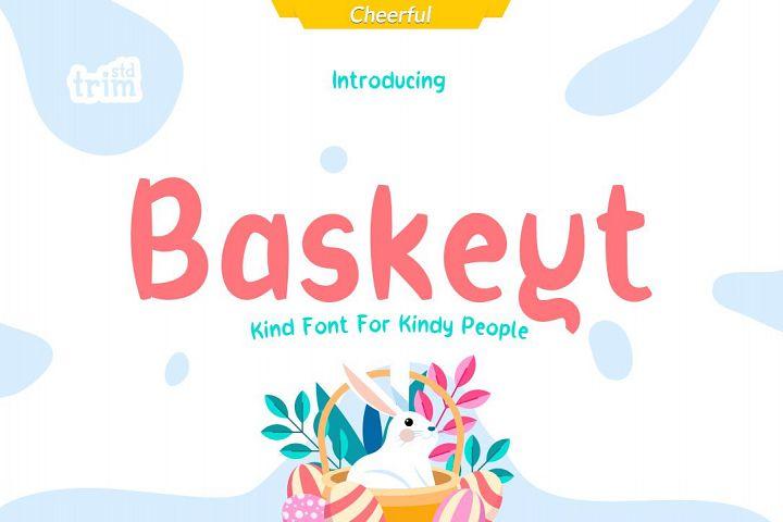 Baskeyt - Kind Font for Kindly People