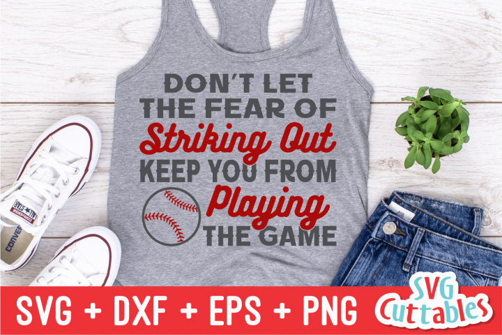 Baseball Quote  SVG Cut File