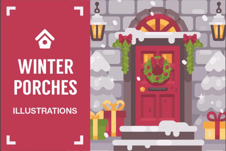 Winter porches