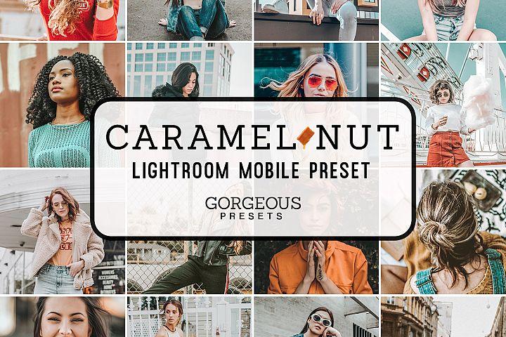 Mobile Lightroom Preset CARAMEL NUT