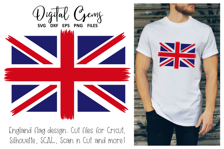 Union Jack flag SVG / DXF / PNG / EPS