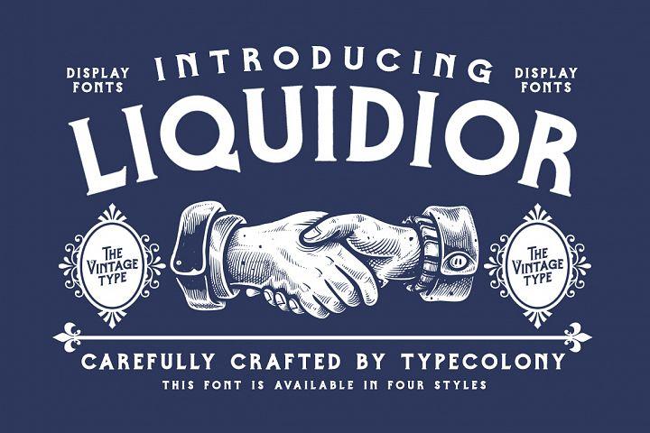 Liquidior Font