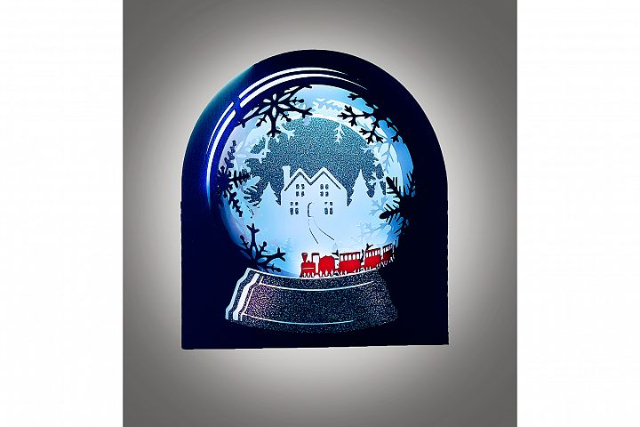 Snow Globe Winter wonderland Train