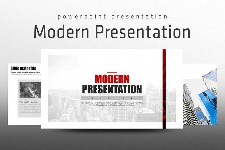 Modern Presentation Template