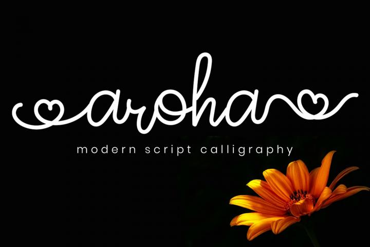 Aroha Script
