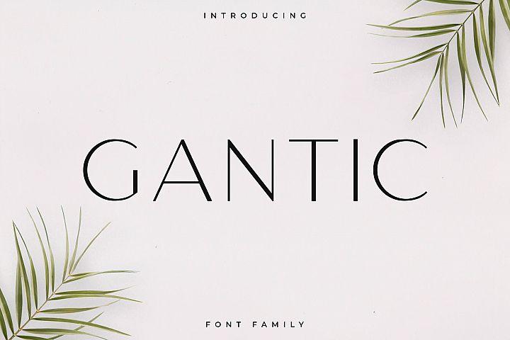 Gantic Font Family - Sans Serif