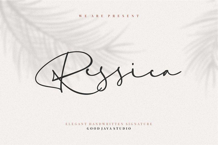 Ressica - Modern Font