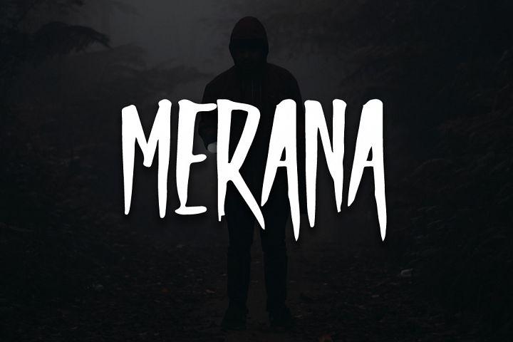 Merana Typeface