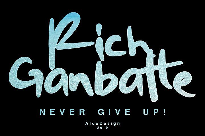 Rich Ganbatte