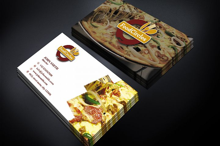 Attractive Restaurant Business Card