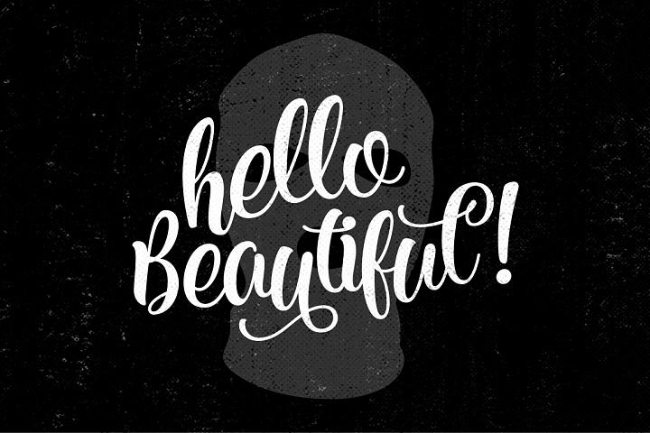 Kite Script - Free Font of The Week Design 6