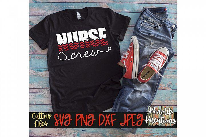 Nurse Crew Svg, Nurse Svg, Nurse Life Svg, Stethoscope Svg