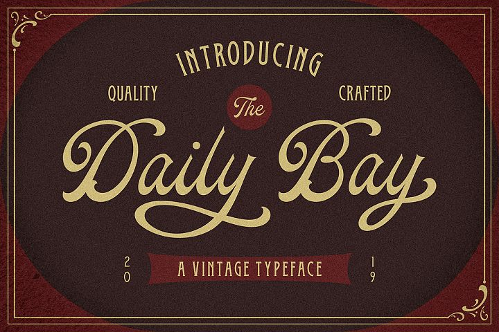 Daily Bay Font Duo Extras!