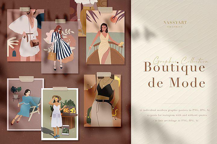 Boutique de Mode Graphic Collection