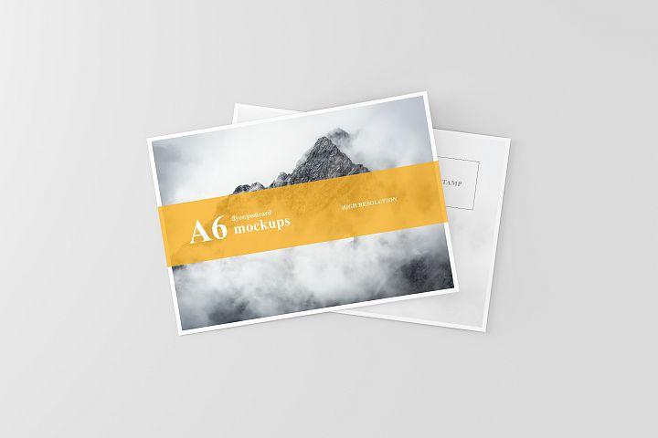 A6 Flyer / Postcard Mockup