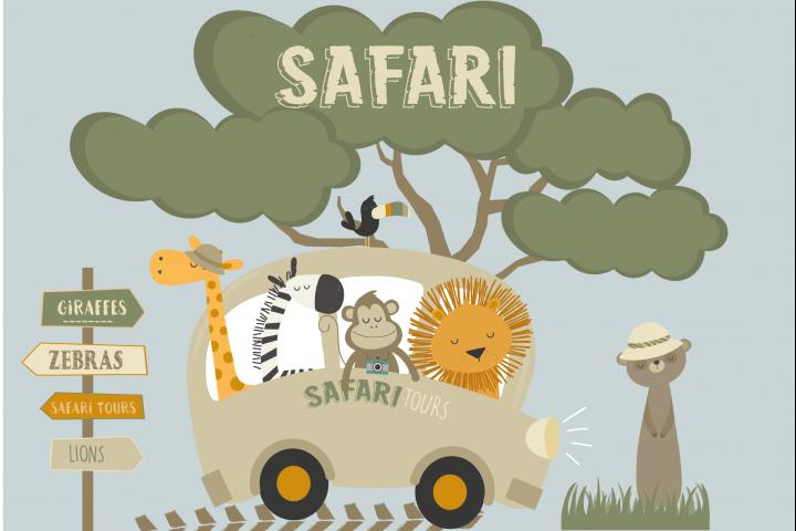 Safari tours set