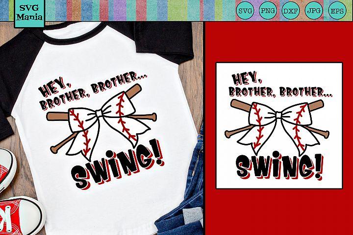 Baseball Sister Shirt SVG File, Cute Baseball Sister SVG