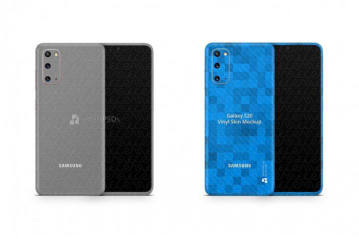 Galaxy S20 2020 PSD Skin Mockup Template