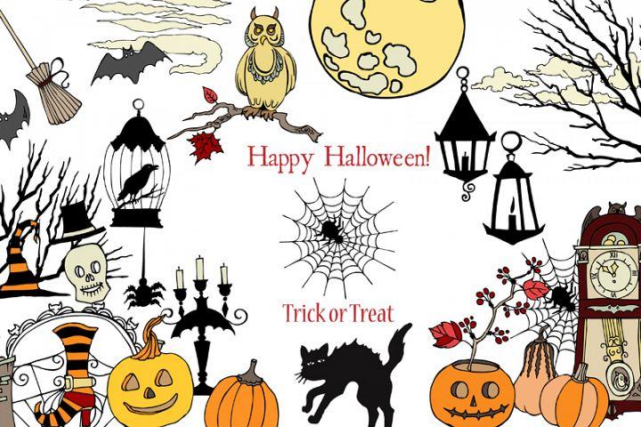 Halloween Colors Clip art