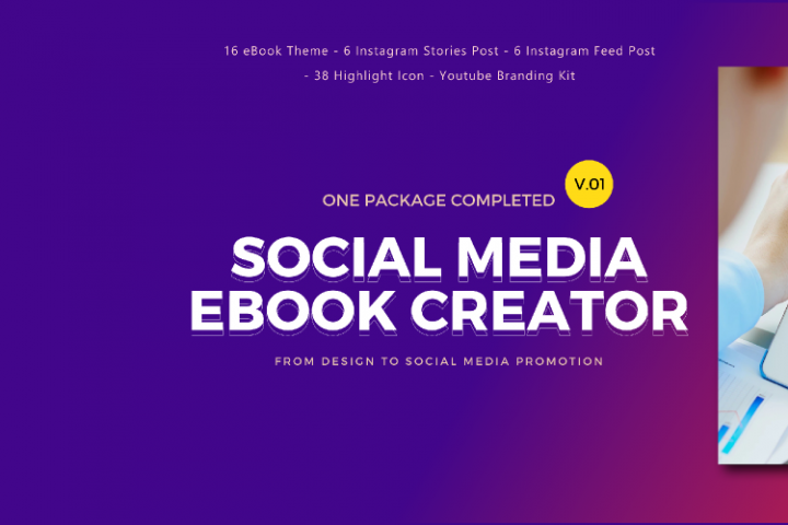 Social Media Marketing eBook Creator with Instagram Youtube