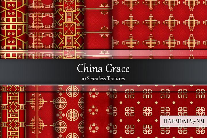 China Grace 10 Seamless Textures