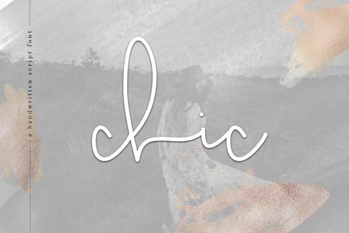 Chic - Handwritten Script Font
