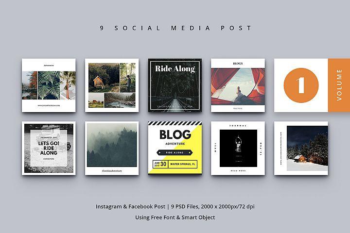 Social Media Post Vol. 1