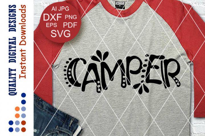 Camper svg files sayings Camping decor Travel shirt