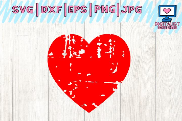 heart svg, grunge svg, valentines day svg, wedding svg