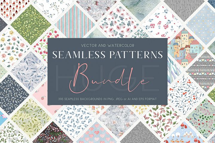 395 Seamless Pattern Bundle