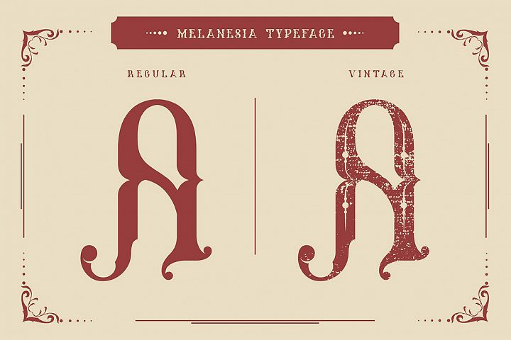 Melanesia Font example 1