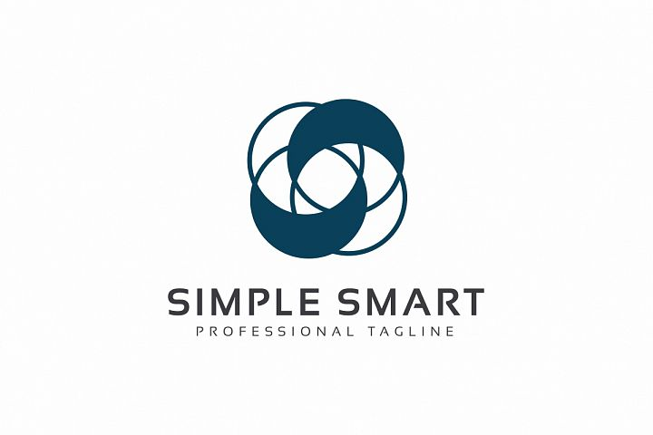 Simple Smart S Letter Logo