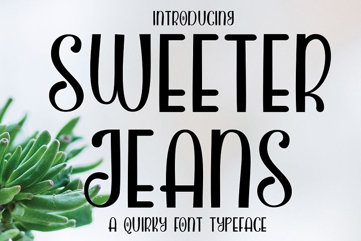 SWEETER JEANS