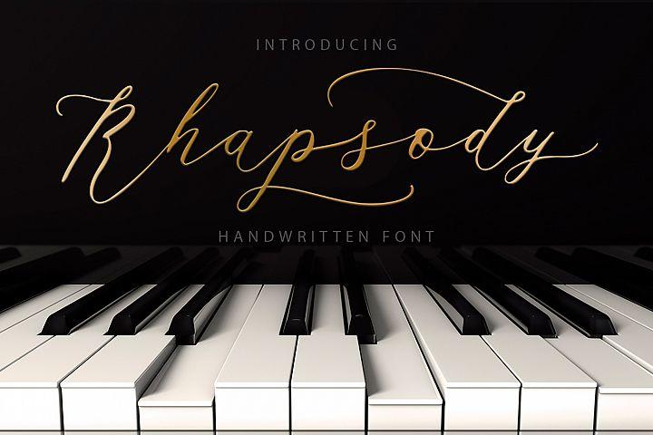 Rhapsody Font