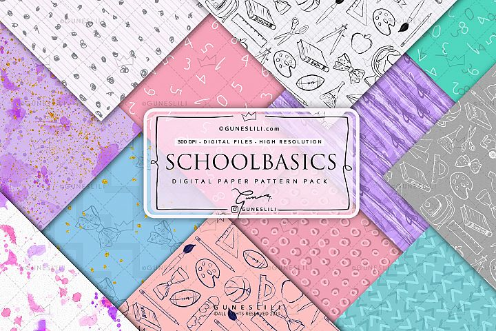 Back To School Basic Patterns