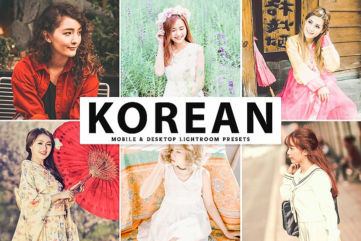 Korean Mobile & Desktop Lightroom Presets