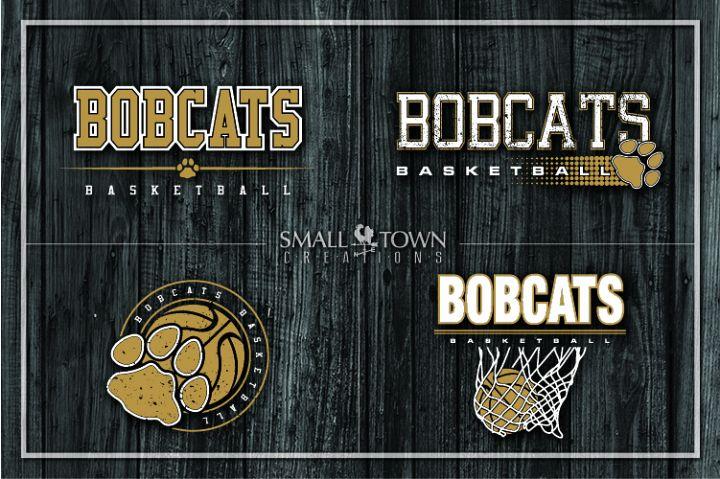 Bobcats bundle, Bobcat mascot, team, PRINT, CUT, DESIGN