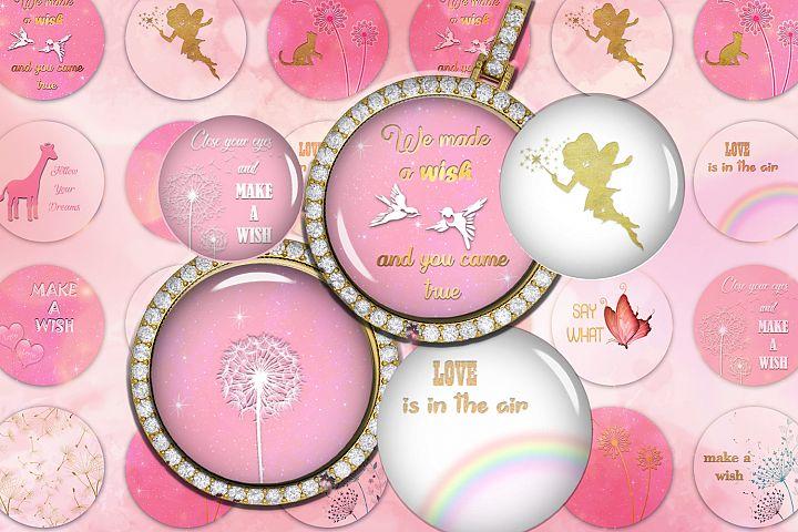 Make a Wish Digital Collage Sheet,Follow Your Dream,Digital