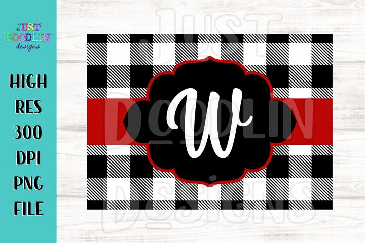 Buffalo Plaid Cutting Board Design