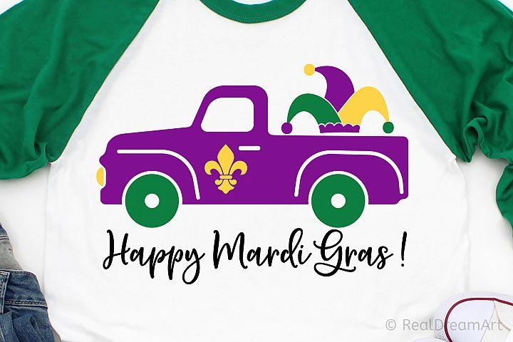 Happy Mardi Gras SVG, DXF, PNG, EPS