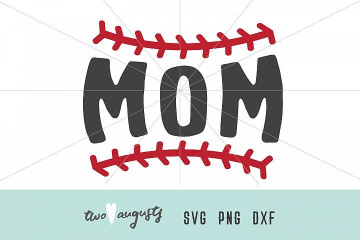 Mom Baseball Stitches