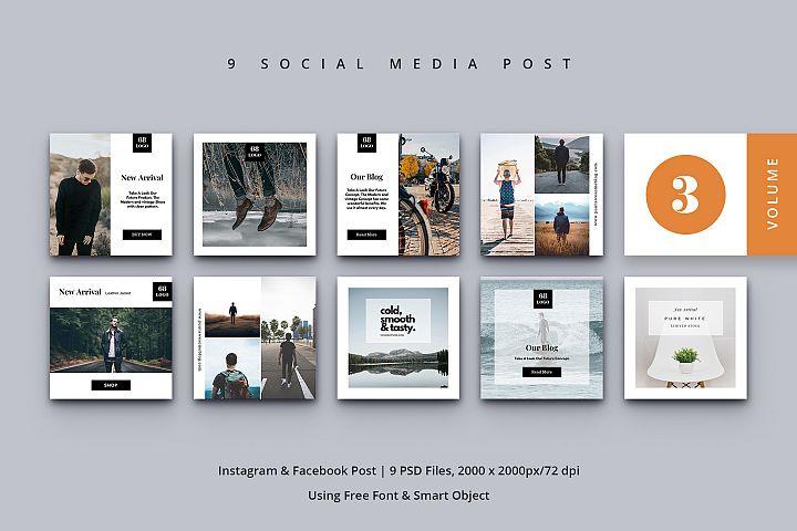 Social Media Post Vol. 3