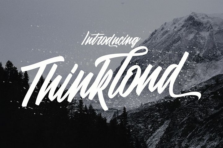 Thinkloud - with Stylistic Alt Style
