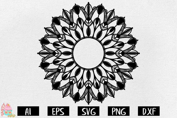 Mandala SVG - Mandala Cut Files