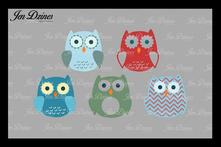 Owl Bundle SVG DXF EPS PNG
